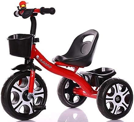 Minmin Bicicleta Triciclo para niños 3-6 años de Edad Bicicleta ...
