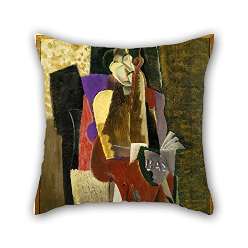 Loveloveu Oil Painting Max Weber - The Cellist Cushion Cases 18 X 18 Inches / 45 By 45 Cm Gift Or Decor For Wedding,dance Room,seat,couples,monther,chair - Both Sides