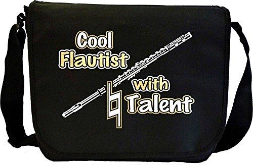 Flute Cool Natural Talent - Musik Noten Tasche Sheet Music Document Bag MusicaliTee