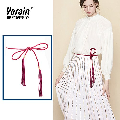 4f5f4019d73b ZHANGYONG La décoration de tissu fin autour de la taille de ceinture femme  ceinture en