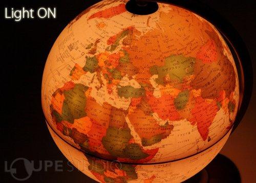 オルビス イタリア製 地球儀