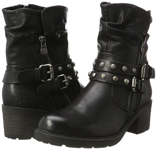 Tailor Motardes Noir black 3795004 Tom Bottes Femme 6Hd1nqw