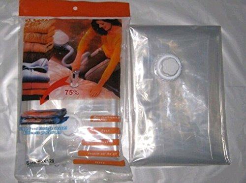 DS Link Multi size Vacuum Storage Bag Compressed Bag Space Saved Seal Compression Travel Bag (2, XL: 110*80cm)