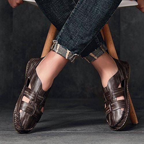 @Sandals Sommer Herren, Koreanische Version, Baotou Strandschuhe, Beiläufige Schuhe, Belüftung Der Männer.