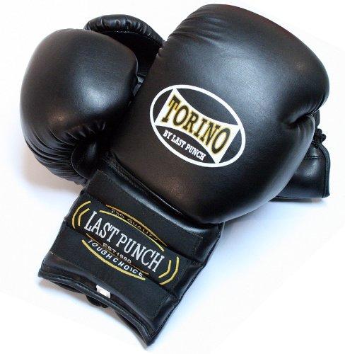 Black Color Torino Boxing Gloves
