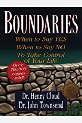 Boundaries: When to Say Yes, When to Say No, to Take Control of Your Life (Walker Large Print Books) Paperback