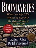 img - for Boundaries: When to Say Yes, When to Say No, to Take Control of Your Life (Walker Large Print Books) book / textbook / text book