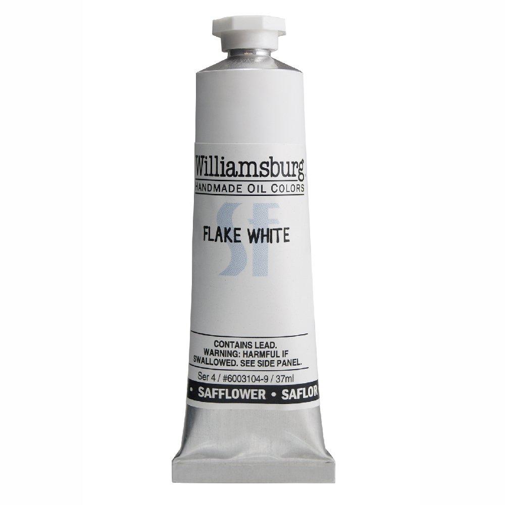 Williamsburg  油絵の具 37 Ml Tube WB60031049 B00MOPU91Y 37 Ml Tube Safflower Flake White Safflower Flake White 37 Ml Tube