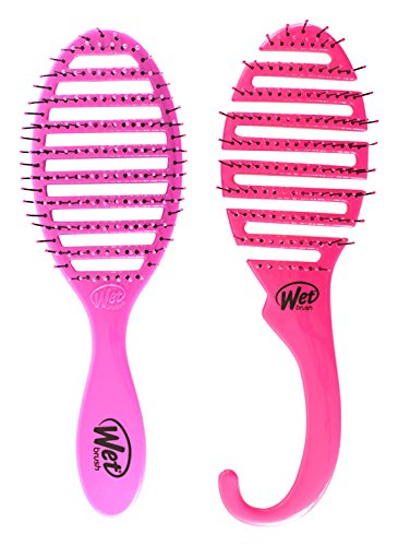 Wet Brush Shower Flex/Speed Dry Combo, Pink, 4.14 Ounce