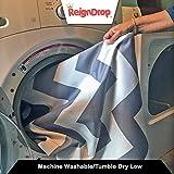 "54"" Large REIGNDROP Splat Mat for High Chair, Play"