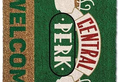 Friends Central Perk Door Mat Doormat inch