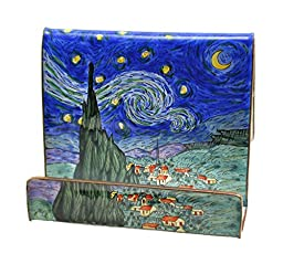 Kelvin Chen Enameled Cell Phone Holder - Starry Night
