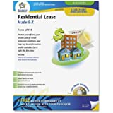 Adams Residential Lease Forms and Instructions, 8.5 x 11 Inch, White (LF310)