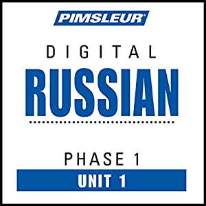 Russian Phase 1, Unit 01 Audiobook