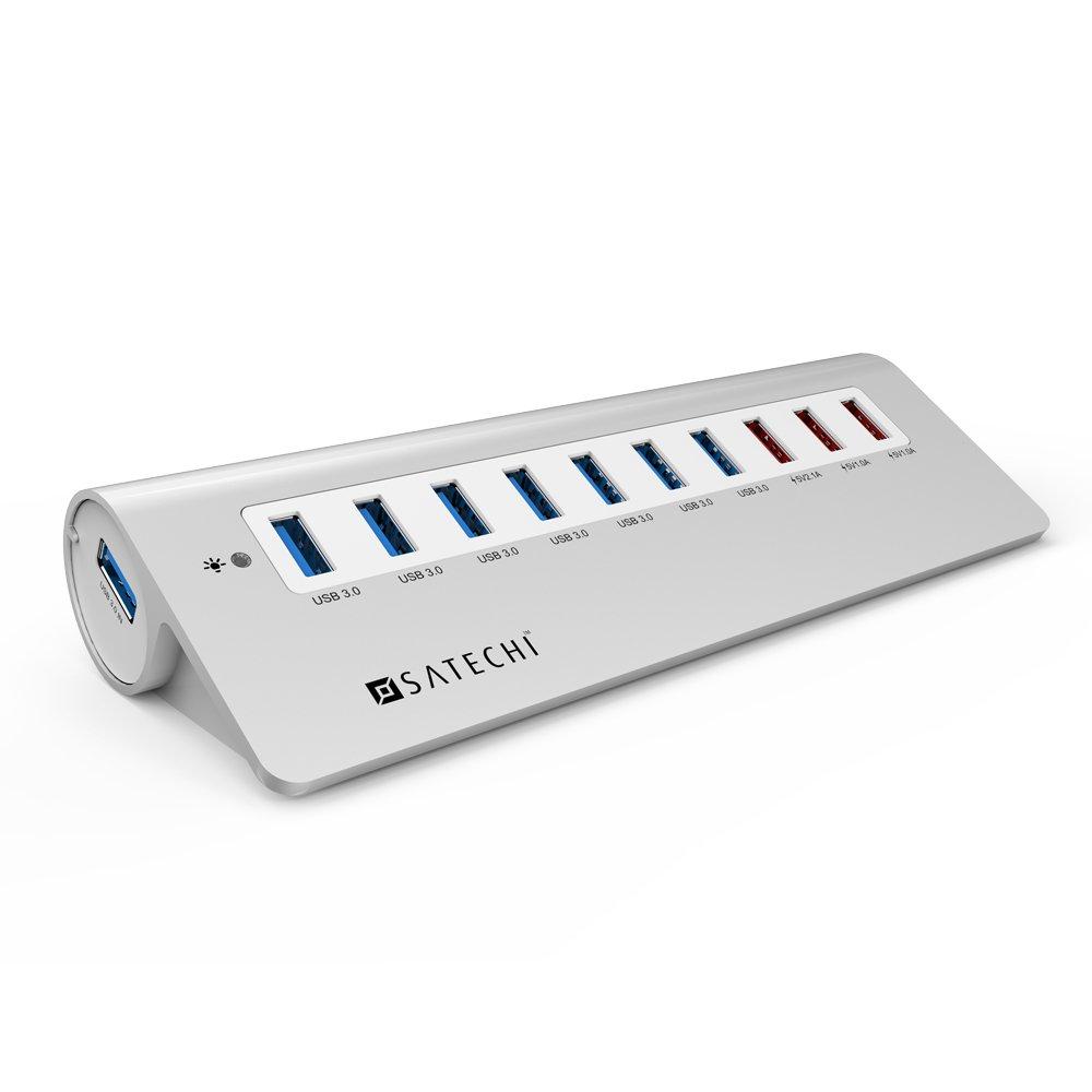 Satechi 10 Port USB 3.0 Premium Aluminum Hub for iMac, MacBook Air, MacBook Pro, | eBay