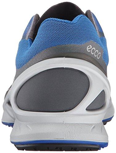 Ecco Mænds Biom Fjuel Racer Sneaker Mørk Skygge / Bermuda Blå Nf7ZXDcD