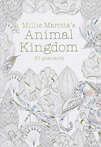 Amazon Millie Marottas Animal Kingdom Postcard Book 30 Postcards A Marotta Adult Coloring 9781454709350 Books