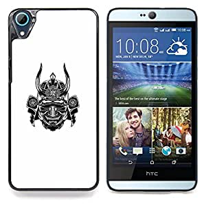 Eason Shop / Premium SLIM PC / Aliminium Casa Carcasa Funda Case Bandera Cover - Guerrero Cuerno Scary Japón - For HTC Desire 826