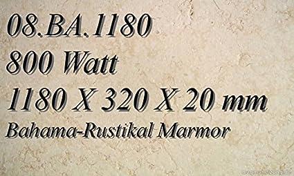 Calefacción por infrarrojos de mármol de calefacción por radiadores planos Magma calefacción 08A BA, 1180R