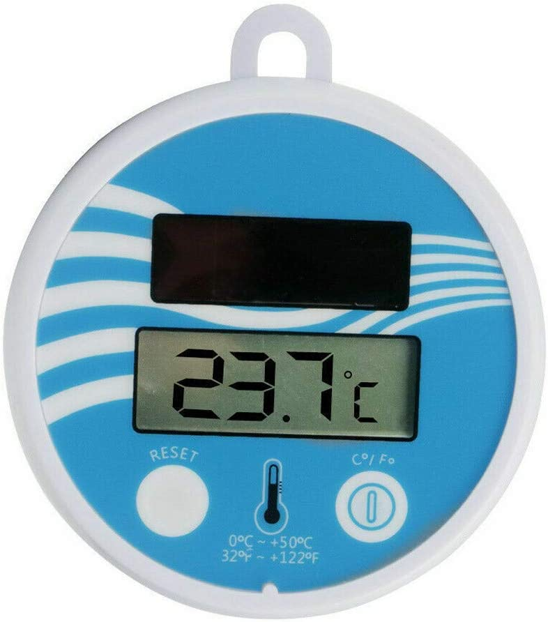 HYOON Thermometer Pool Schwimmring Poolthermometer Schwimmend Schwimmbadthermometer F/ür Outdoor /& Indoor Pools Hot Tubs Fischteiche Aquarien Spas