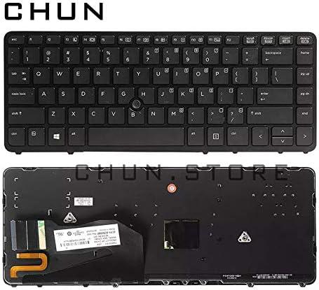 FCQLR for HP Elitebook 840 G1 850 G1 Keyboard US Backlit 736654-001 731179-001