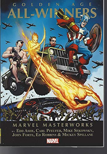 Classics Softcover - Marvel Masterworks All Winners 2 tpb soft cover Timely Golden Age Classics