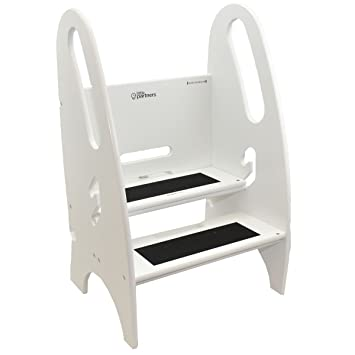 Good The Growing Step Stool By Little Partners (Soft White) U2013 Adjustable Height  Nursery,