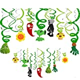 Plant vs Zombie Birthday Party Supplies Hanging