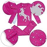 Girls Pajamas Bluenido Unicorn and Pegasus 2 Piece