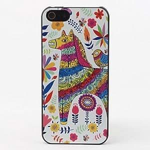 MOFY-Caja colorida del caballo duro de protecci—n para el iPhone 5/5S