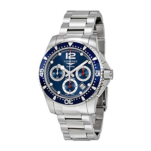 Longines HydroConquest Automatic Chronograph Blue Dial Stainless Steel Watch 37444966 - Longines Stainless Steel Wrist Watch