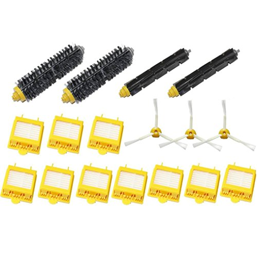 Robot Vacuum Acessories Bokeley Brushes & Filters Kit for Roomba 700 760 770 780 790