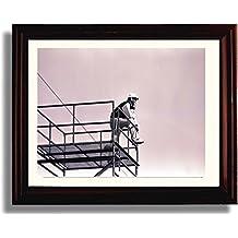 "Framed Bear Bryant - Alabama Crimson Tide ""From the Tower"" Photo"