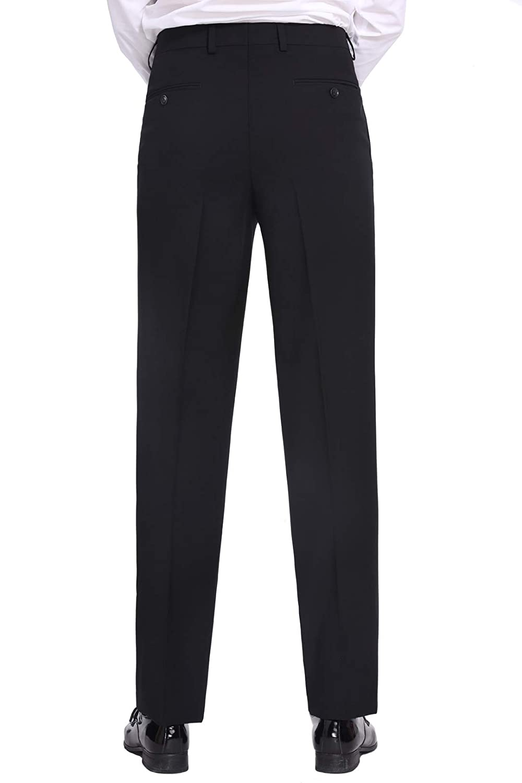 P/&L Mens 2-Piece Classic Fit 2 Button Office Dress Suit Jacket Blazer /& Pleated Pants Set