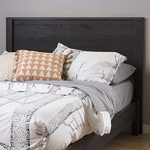 South Shore Fynn Headboard, Full, Gray - Headboard Oak Contemporary