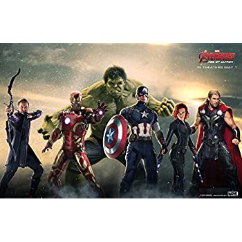 amazoncom avengers age of ultron 2015 movie poster