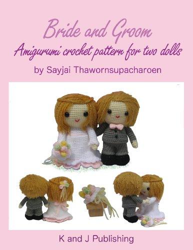 Groom Crochet - Bride and Groom, Amigurumi crochet pattern for two dolls