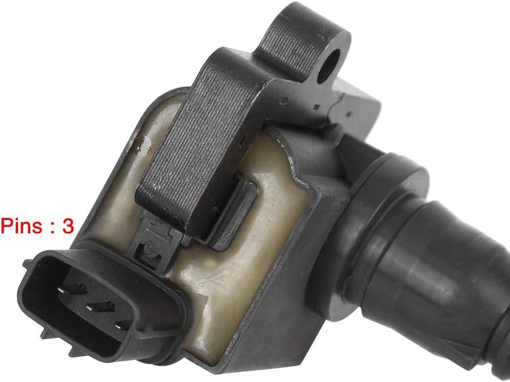 X AUTOHAUX FK0172 MD360866 Ignition Coil Black for Mitsubishi Lancer Cedia CS2A 00-07