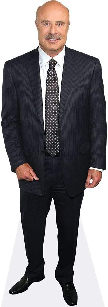 Dr Phil McGraw Life Size Cutout Suit