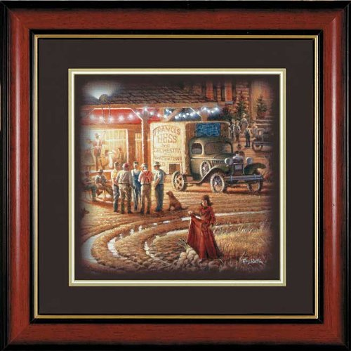 Wild Wings Harvest Moon Ball Framed Companion Print by Terry Redlin
