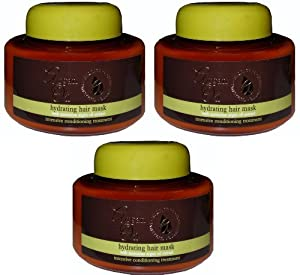 Argan Oil Hydrating Hair Mask 220 millilitres X 3 by Argan Oil