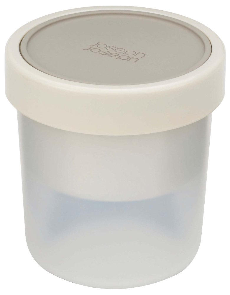 Joseph Joseph GoEat Compact 2-in-1 Soup Bowl, Gray