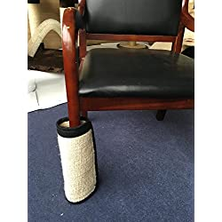 Cat Scratcher Pad for Wrapping Around Table, Couch, Chair, Furniture Leg to Prevent Furniture Scratching (L(17.3''x11.8''))