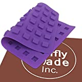 Mini Square THC Edibles Mold, Edible Gummies, Candy Mold, 54 cavities - Truffly Made