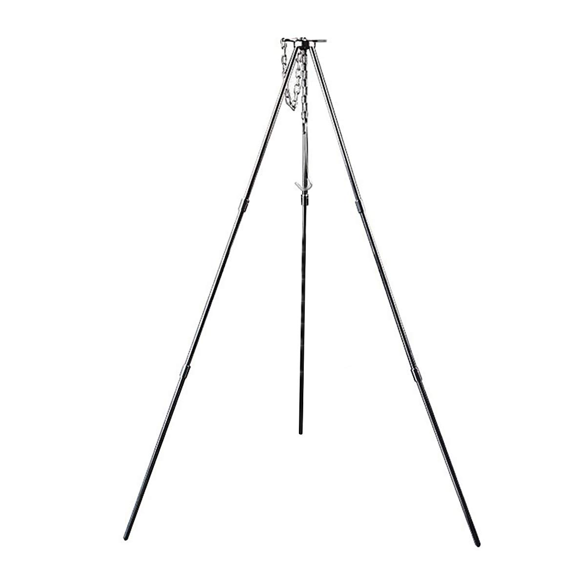 "Cozylkx 31"" Height Tripod Grills with Bag, Alloy Portable Campfire Grills for Outdoor Cooking Camping Picnic BBQ"