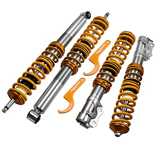 Lowering Coilovers Shock Suspension for VW Golf Mk2, Golf Mk3, Jetta Mk2, Jetta Mk3, Corrado 1989-1995, SEAT Toledo Mk1 - Golden