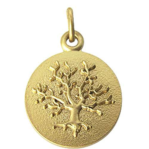 SF Bijoux - Médaille en or jaune 750/1000e représentant un arbre de vie