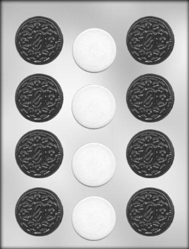 sandwich cookie chocolate mold - 1