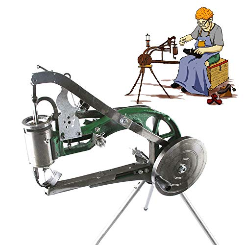 Hand Machine Cobbler Shoe Repair Machine Dual Cotton Nylon Line Sewing Machine