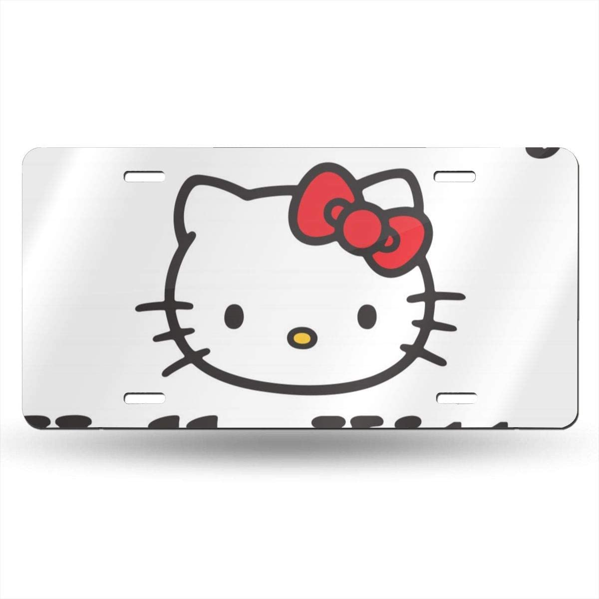 Mickey Mouse Cartoons License Plate Tag Car Accessories 12 X 6 Inches Aluminum License Plates